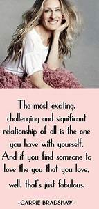 Sarah Jessica Parker Carrie Bradshaw Quotes. QuotesGram