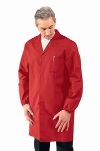 Blouse De Travail Homme : blouse m dicale homme manches longues rouge ~ Dailycaller-alerts.com Idées de Décoration