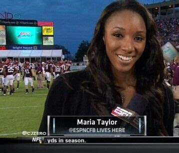 ESPN and SEC Network's Maria Taylor Tuesday...   TexAgs