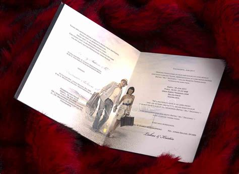 contoh undangan pernikahan word contoh