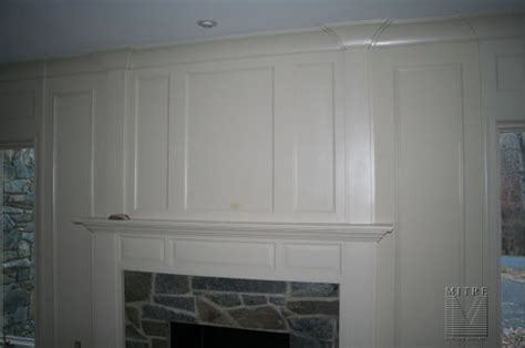 Raised Panel Wall Molding by Mantels Surrounds Mitre Contracting Inc