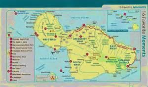 South Maui Hawaii Map