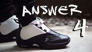 "Iverson Reebok Answer IV ""Stepover"" - YouTube"