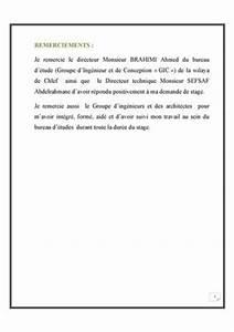 Calamo Rapport De Stage Bureau D39tude