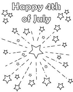 Printable 4Th Of July Coloring Pages Pdf
