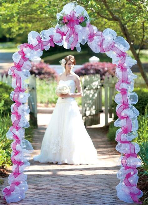 deco mesh wedding candle rings decorative items and