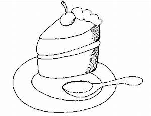 Piece of Cake Coloring Page