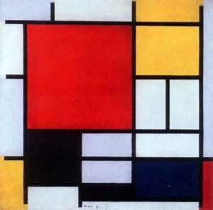 Minimalism Paintings Piet Mondrian Katie Warman