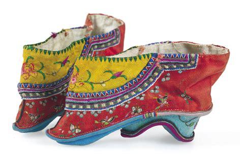 Chinese Foot Binding Lotus Shoes