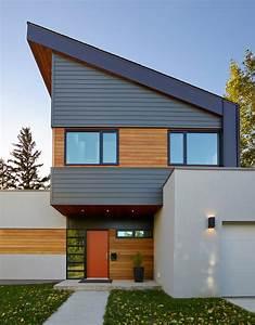 Contemporary House Siding - Home Design