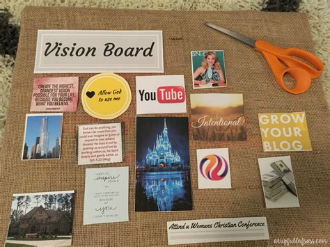 vision board 7 ways to make your birthdays more meaningful and memorable