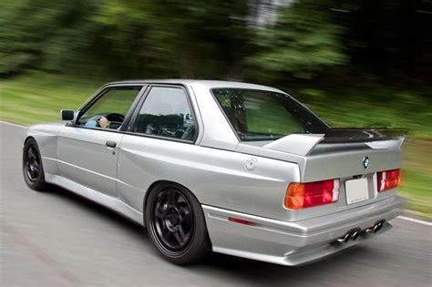 This 1989 Bmw E30 M3 Has A 5.7-liter V10 Under The Bonnet
