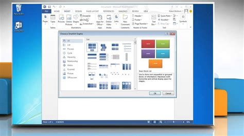 create flow chart  ms word  document youtube