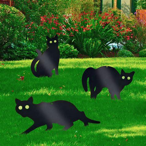 3 Pack Garden Scare Cat Pest Deterrent Repellent Scarer