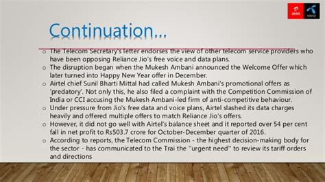 jio effect airtel mergers with telenor