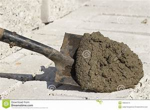 Tool shovel cement stock photo. Image of tool, steel ...