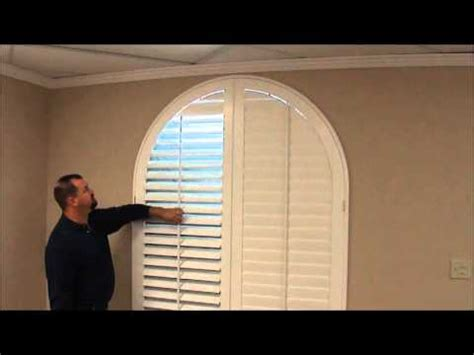 custom shutters  arched windows youtube