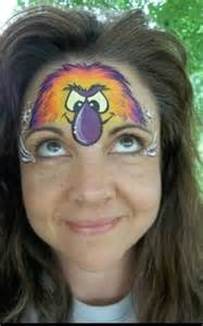 Easy Face Painting Monster