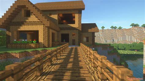 cliffside wooden mansion map   minecraft minecraftnet
