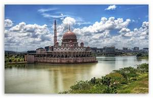 Mosque In Kuala Lumpur 4K HD Desktop Wallpaper for 4K ...