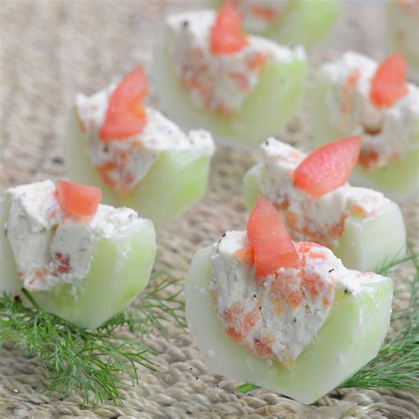 canape appetizer cucumber and smoked salmon appetizer canapes recipe