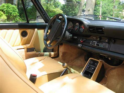 vintage porsche interior 1989 porsche 911 classic carrera cabriolet rennlist