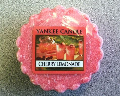 yankee candle cherry lemonade scented tart wax melts potpourri 6 count sealed candles