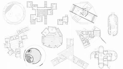 Plan Plans Floor Shaped Weird Houses Planning