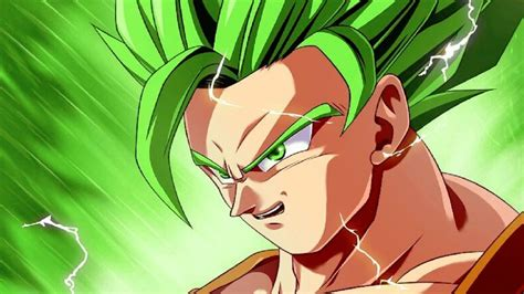 super saiyan green youtube