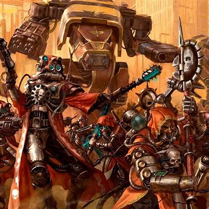 Warhammer 40k Exploring Mechanicus Adeptus Starter Amzn