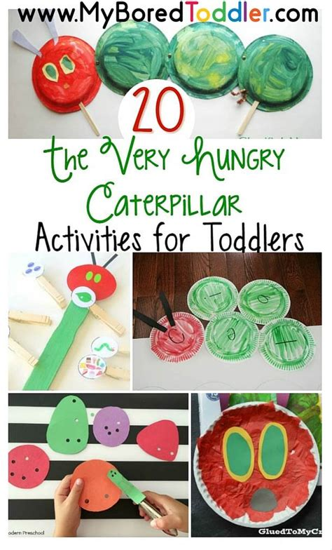 the hungry caterpillar activities for toddlers my 836 | The Very Hungry Caterpillar Activities for Toddlers