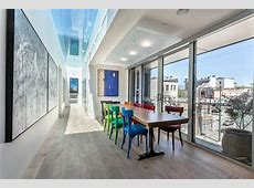 Penthouse with glass bottom pool in Keefer Bar building