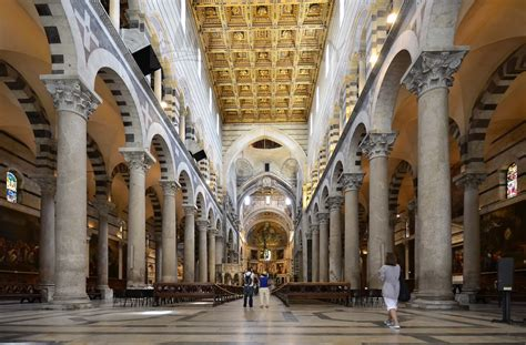 Interno Duomo Di Pisa by Duomo Di Pisa Tuscany Cathedral Of Santa Assunta