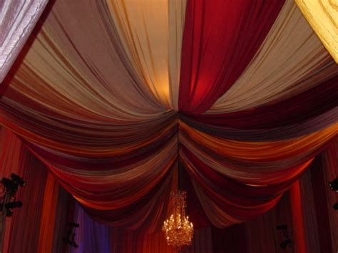 sort  fabric draping   ceiling