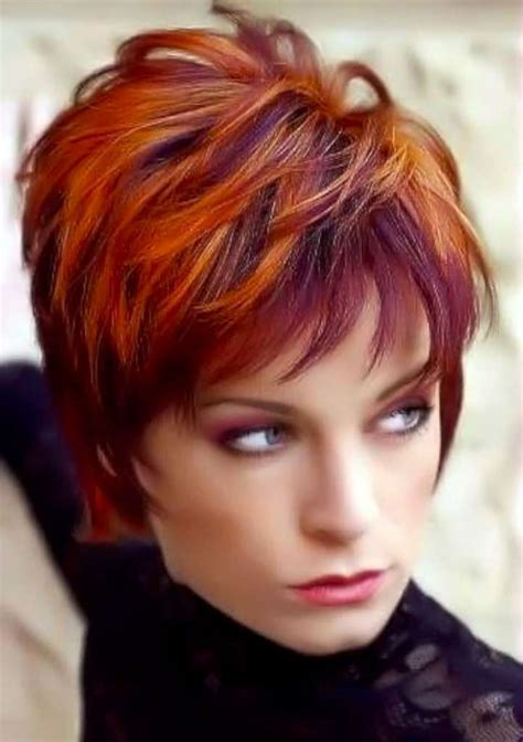 short hairstyles  colors fashion  women