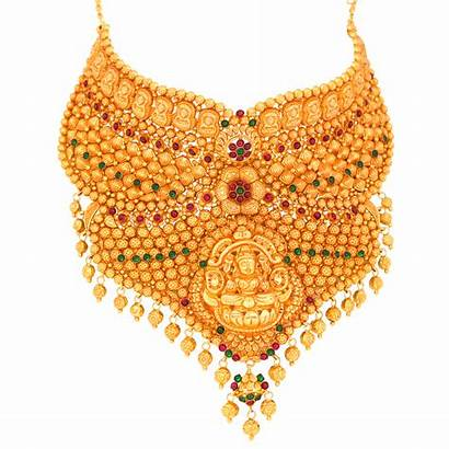Jewellery Transparent Gold Latest Format Necklece Traditionally