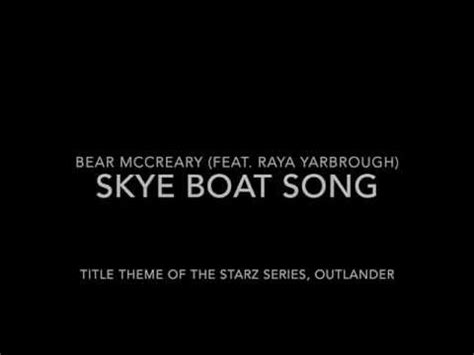 Skye Boat Song Karliene by 吟遊詩人芒果 喜歡 Skye Boat Song Title Theme To Outlander