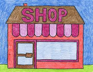 How To Draw A Store  U00b7 Art Projects For Kids