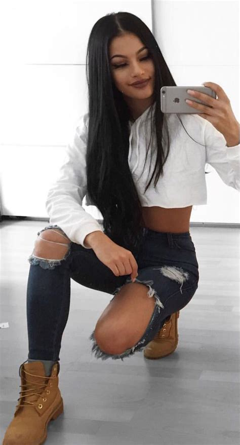 Best 25+ Timberland outfits ideas on Pinterest | Timberland boots outfit Short boots outfit and ...
