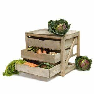 Rangement Fruits Et Légumes : rangement de cuisine fruits et l gumes en pic a 3 tiroirs cuisine et table shopping ~ Melissatoandfro.com Idées de Décoration
