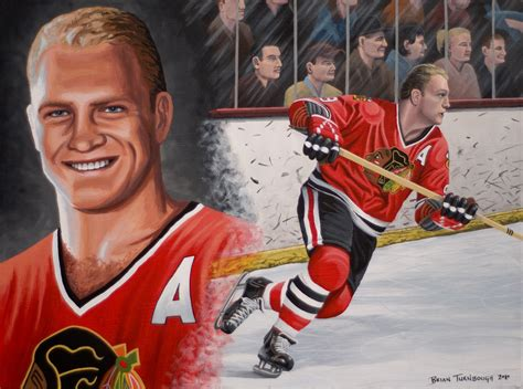 chicago blackhawks paintings