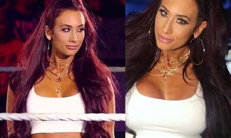 wwe news carmella reveals   changed  hair color