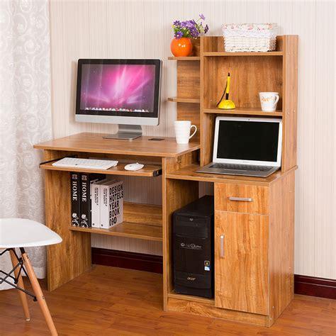 Furinno Boyate Computer Desk With Bookshelf by Patriarch Simple Desk Computer Desk Desktop Home