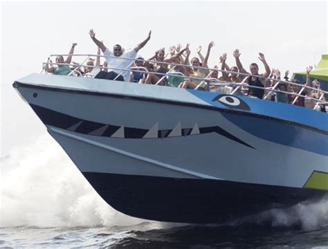 Speed Boat York by Shark Speedboat Ride New York Attractiontix