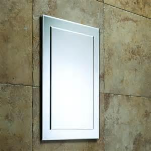 designer bathroom mirrors roper designer bevelled bathroom mirror 405mm mps403
