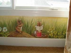 Maus Im Haus : kreative lustige wanddekoration eine maus im haus ~ Buech-reservation.com Haus und Dekorationen