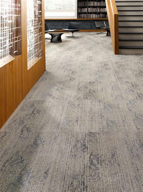 Radiating Out Tile, Lees Commercial Modular Carpet