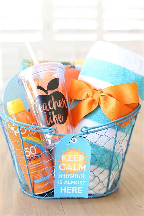 Craft: Keep Calm Summer Teacher Gift Idea - See Vanessa Craft