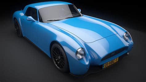 mazda mx    custom retro sports car