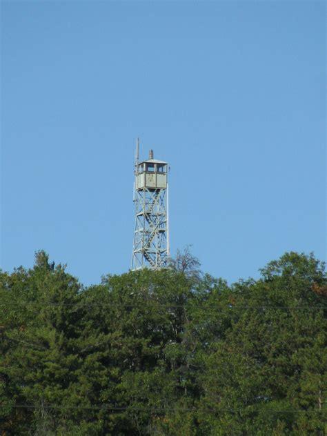 landmarkhuntercom volk field bluff fire tower